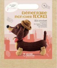 Graine Créative Graine Creative Amigurumi Haakpakket Teckel 18 cm