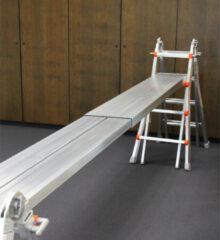 Waku Telescopische werkbrug   205 - 350 cm