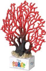 Europet Bernina Decor Koraal Xl - Aquarium - Ornament - 23.5x19.5x5.5 cm Rood