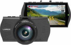 Lamax C9 Dashcam met GPS Kijkhoek horizontaal (max.): 150 °