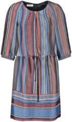 Kleid mit Bindeband Gerry Weber Indigo-Zimt-Blau