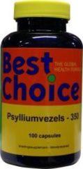 Psylliumvezels 350 van Best Choice : 100 capsules
