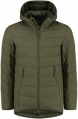 Groene Korda KORE Thermolite Puffer Jacket - Olive - Maat XXL