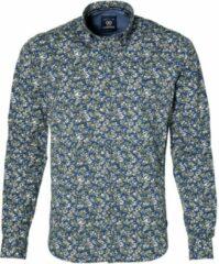Lerros Overhemd - Modern Fit - Groen - 5XL Grote Maten