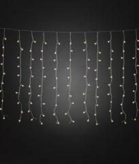 Lichtgordijn Buiten 24 V Energielabel: A (A++ - E) 200 LED Warm-wit (l x b x h) 12.47 m x 247 cm x 100 cm Konstsmide