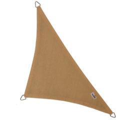Nesling Coolfit schaduwdoek driehoek 90 graden zand - 4.0 x 4.0 x 5.7 meter