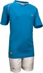 Lichtblauwe Avento Sportset London - Junior - Aqua/Wit - 152