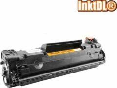 Zwarte INKTDL XL Laser toner cartridge voor HP 36A - CB 436A | Geschikt voor Laserjet M1120, Laserjet M1120N, Laserjet M1522N, Laserjet M1522NF, Laserjet P1505, Laserjet P1505N