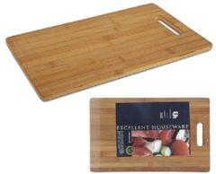 Excellent Houseware Snijplank bamboe ca 36X23cm