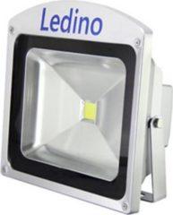 Ledino LED-Flutlichtstrahler in Silber mit Epistar LEDs, 50 W, neutralweiß
