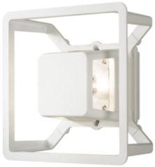 Konstsmide Pescara 7989-250 Buiten LED-wandlamp Energielabel: LED (A++ - E) 3 W Warm-wit Wit