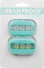 URBAN PROOF - Clip Fietslampjes set - Oceaan blauw