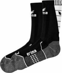 Erima Trainingssokken - Zwart / Wit - maat 47-48