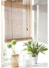 Merkloos / Sans marque Rolgordijn Bamboe - 60x180cm - meerdere maten en kleuren beschikbaar