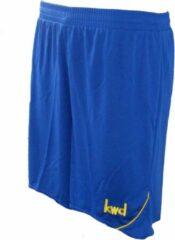 KWD Short Nuevo - Kobaltblauw/geel - Maat 152/176 - Junior