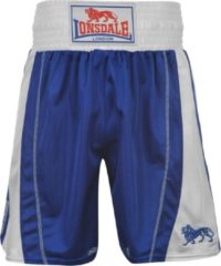 Blauwe Lonsdale Performance Trunks Blue/White - Boksbroek - Maat XL