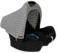 Grijze Baby's Only Kabel Teddy - Zonnekap Maxi Cosi Autostoel - Lichtgrijs