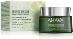 Ahava - Mineral Radiance Overnight De-Stressing Cream - 50 ml