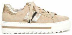 Gabor Dames Lage sneakers 495 - Beige - Maat 40