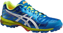 Asics Gel-Hockey Neo 3 Blauw/Wit/Geel | 50% DISCOUNT DEALS