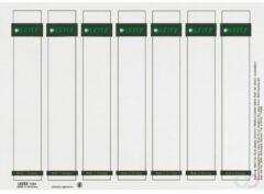 Leitz PC Printbare Rugetiketten voor Kunststof Ordners - 175 stuks - Smal en kort - Grijs