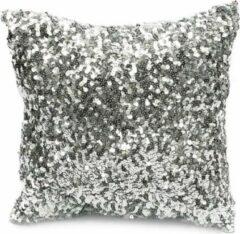 Bazar Bizar De Glitter Kussenhoes - Zilver