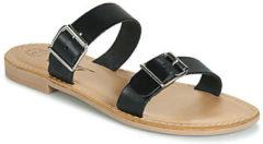 Zwarte Slippers Betty London JADALEBE
