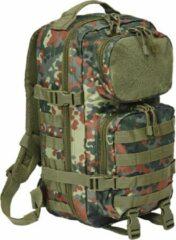 Brandit Backpack - Rugzak - Mollie system - medium - patched fleck