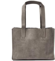 Grijze MYOMY My Paper Bag Handbag Hunter Taupe Handtas MOM10571381-N