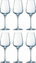 Transparante Chef&Sommelier Chef & Sommelier - Sublym Wijnglas 35 Cl Set 6