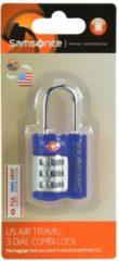 Travel Accessories TSA-Kofferschloss 7cm Samsonite indigo blue