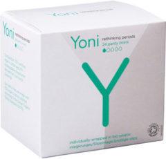 Yoni Biologisch Katoenen Inlegkruisjes Light 24 stuks