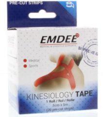 Emdee Kinesio Tape Rood Pre-cut Strips