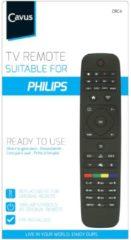 Cavus afstandsbediening TV afstandsbediening voor Philips zwart