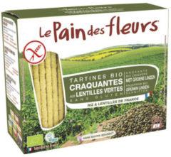Pain Des Fleurs Crackers groene linzen 150 Gram