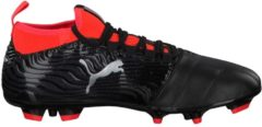 Fußballschuh One 18.3 AG mit Spandex-Sockenkonstruktion 104536-01 Puma Puma Black-Puma Silver-Red Blast
