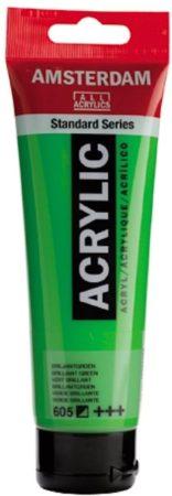 Afbeelding van Groene Royal Talens Standard tube 120 ml Briljantgroen halfdekkende acrylverf briljant groen