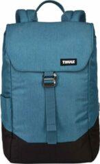 Thule - Lithos Backpack 16 - Dagrugzak maat 16 l, blauw/zwart