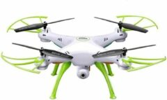 Trendtrading Drone met Camera - TD2RC - Full HD Dual Camera - Wifi FPV - Foto - Video - Quadcopter - Wit