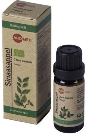 Afbeelding van Aromed E Sinaasappel Etherische olie 10 ml | Biologisch gecertificeerd