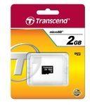Transcend Information Transcend Flash-Speicherkarte - 2 GB - microSD TS2GUSDC