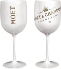 Moet & Chandon Moët & Chandon Ice - 12 stuks Champagne Glazen (Wit) - Acryl