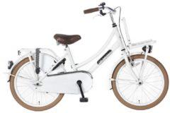20 Zoll Popal Daily Dutch Basic TR20 Kinder Mädchen Fahrrad Popal weiß
