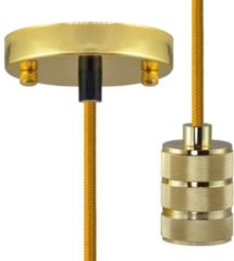 Pendellamp LED E27 Segula Pendelleuchte Chicago Gold 50565 Goud