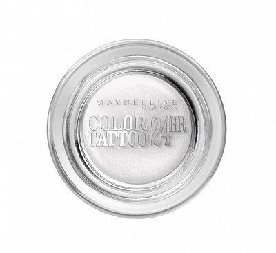 Afbeelding van Witte Maybelline New York Eye Studio Color Tattoo oogschaduw - 45 Infinite White
