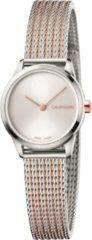 Calvin Klein Minimal horloge - Zilverkleurig