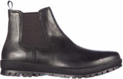 Nero Prada Stivaletti stivali uomo pelle vintage calf