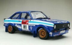 Ford Escort MKII RS1800 #1 Winner Auto24 Rally Estoria Historic 2012 J.M.Latvala / A.Salranen Blauw 1-18 Sun Star Limited 999 Pieces