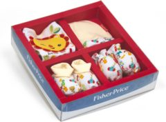 Witte Fisher Price cadeauset baby 4 delig