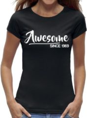 Zwarte New York Finest Sarah 50 jaar t-shirt / kado tip / dames maat XL / cadeau